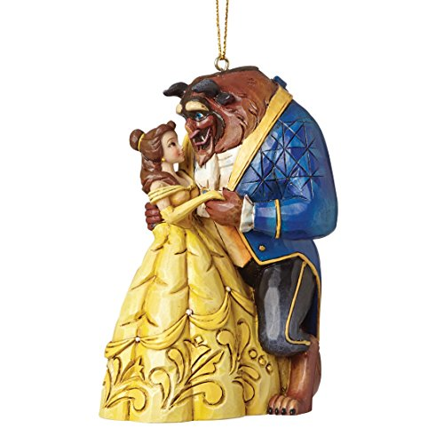 Enesco Disney Traditions Figurita La Bella Y La Bestia, Resina, Multicolor, 7 x 6 x 10 cm